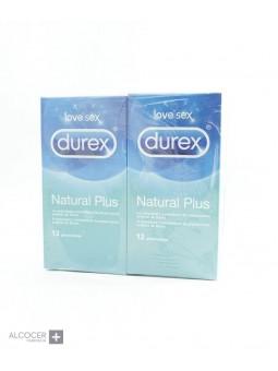 DUREX PACK NATURAL PLUS 2 X 12 PRESERVATIVOS