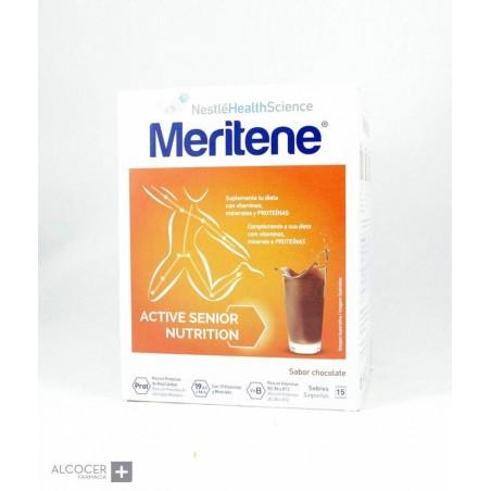 MERITENE BATIDOS CHOCOLATE 15 SOBRES