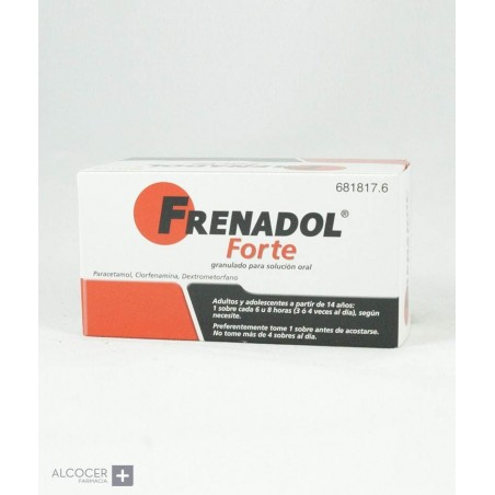 FRENADOL FORTE 10 SOBRES GRANULADO PARA SOLUCION