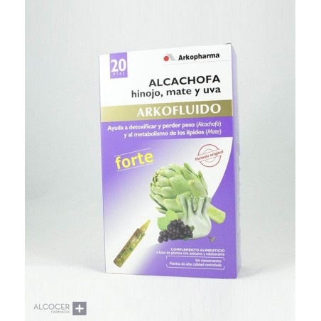 ARKOPHARMA ALCACHOFA FORTE BIO 20 AMPOLLAS