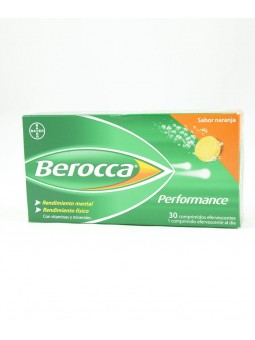 BEROCCA PERFORMANCE NARANJA 30 COMP EFERV