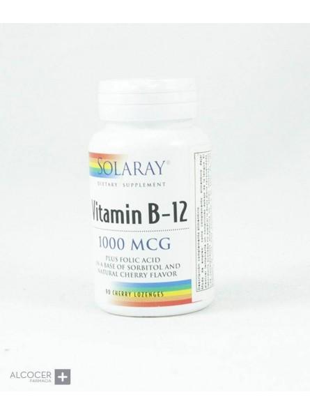 SOLARAY VITAMINA B12 1000 MCG 90 COMP