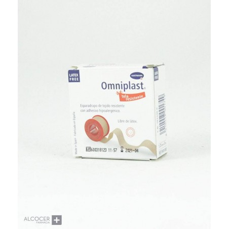 OMNIPLAST COLOR CARNE 1.25 CM X 5M