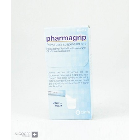 PHARMAGRIP FORTE 10 SOBRES POLVO PARA SUSPENSION