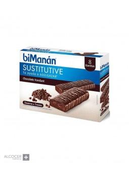BIMANAN SUSTITUTIVE CHOCOLATE FONDANT 10BARRITAS