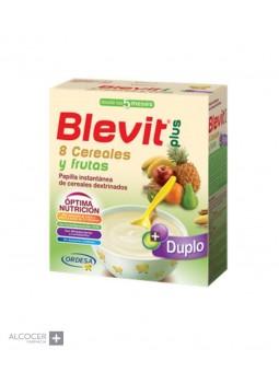 BLEVIT PLUS DUPLO 8 CEREALES FRUTA 600 GR