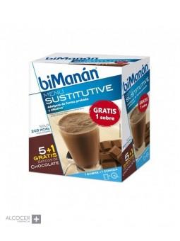 BIMANAN SUSTITUTIVE BATIDO CHOCOLATE 5 SOBRES