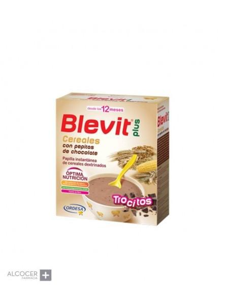 BLEVIT PLUS CEREALES PEPITAS DE CHOCOLATE 600 GR