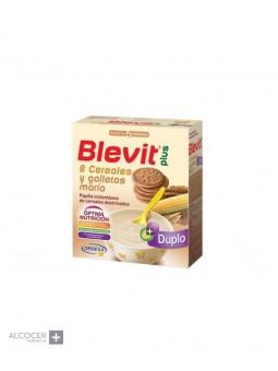 BLEVIT PLUS DUPLO 8 CEREALES Y GALLETAS 600 GR