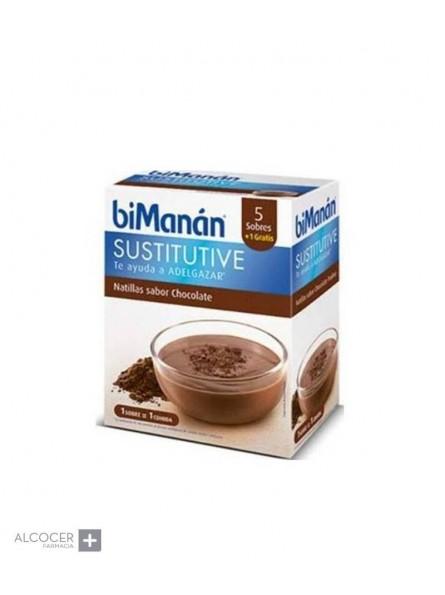 BIMANAN SUSTITUTIVE NATILLAS CHOCOLATE 5 U
