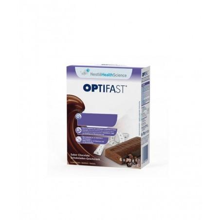 OPTIFAST BARRITAS CHOCOLATE 6 BARRITAS