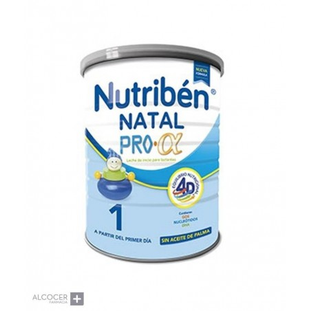 NUTRIBEN 1 NATAL PRO-ALFA 800 GRAMOS