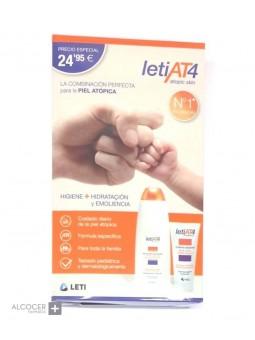 LETI AT-4 PACK GEL 750 ML + CREMA 200 ML