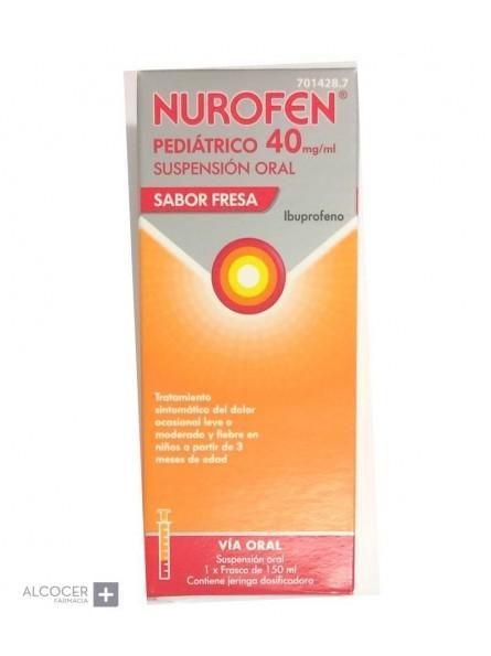 NUROFEN PEDIATRICO 40 mg/ml SUSPENSION ORAL 1 FR