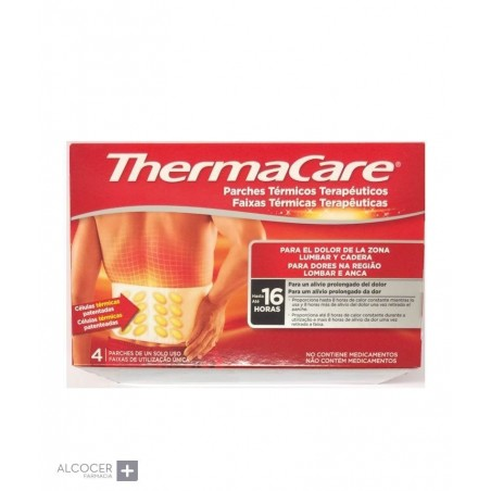 THERMACARE LUMBAR Y CADERA 4 PARCHES