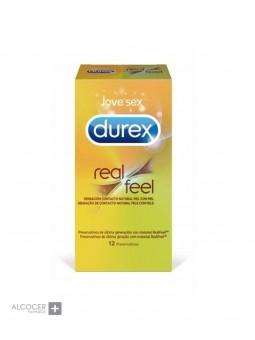 DUREX REAL FEEL SIN LATEX 12 PRESERVATIVOS