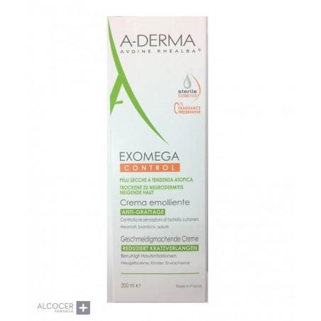 A-DERMA EXOMEGA CONTROL CREMA EMOLIENTE 200 ML