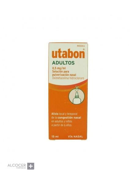 UTABON ADULTOS 0.5 MG/ML NEBULIZADOR NASAL 15 ML